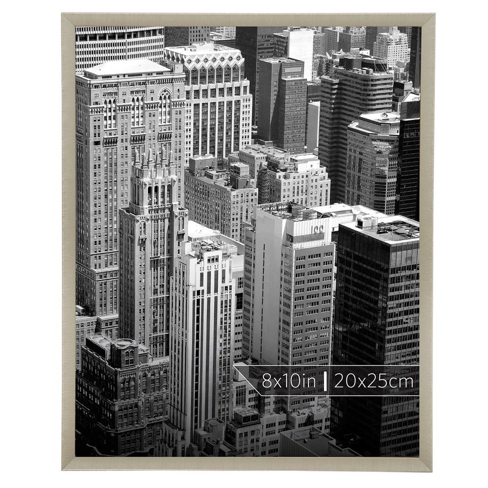 """Image of """"Burnes of Boston 8"""""""" x 10"""""""" Aluminum Gallery in Polished Finish Single Image Frame Gold"""""""