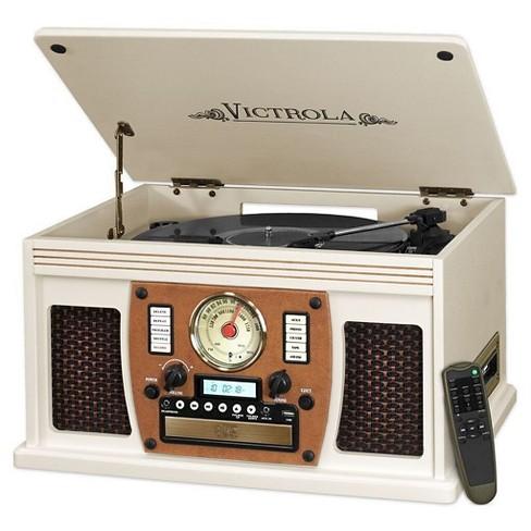 Vinyl Turntable Victrola - White - image 1 of 1