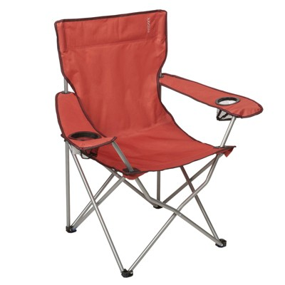 Deluxe Red Captain Chair with Carrying Case - Embark™