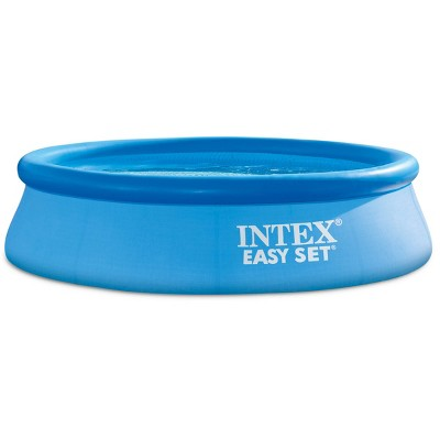 "Intex 10' x 30"" Easy Set Round Inflatable Above Ground Pool"