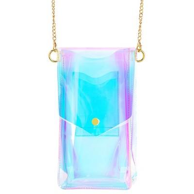 LuMee x Paris Hilton - Universal Crossbody Tech Bag - Holographic by Paris Hilton