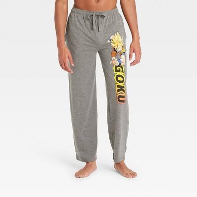 Men's Dragon Ball Z Pajama Pants - Gray