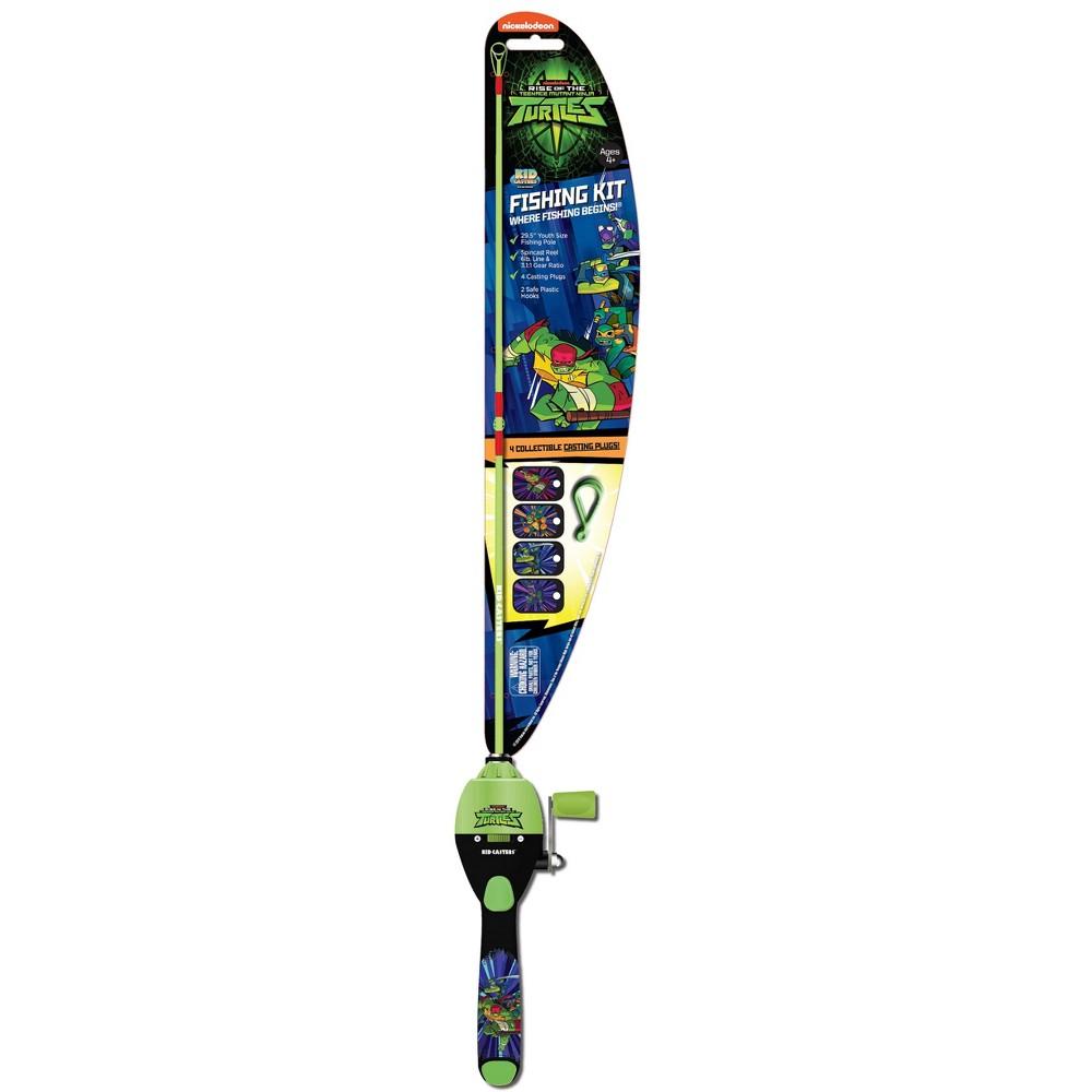 Image of Kid Casters Teenage Mutant Ninja Turtles Fishing Kit - Green