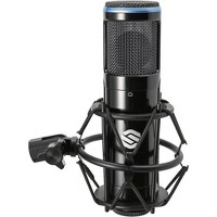 Sterling Audio SP150 Microphone with Shockmount and Carry Case Black
