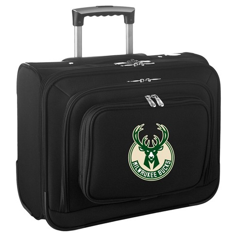 NBA® Milwaukee Bucks Mojo Wheeled Laptop Suitcase - image 1 of 4