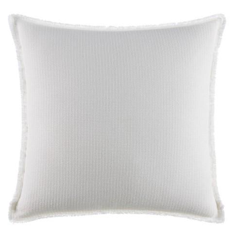 20 X20 Izi Izi Washed Textured Throw Pillow White Target