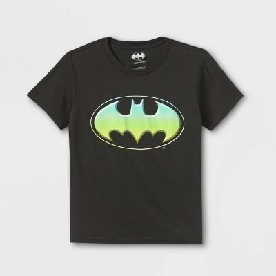 Boys' Batman Short Sleeve Graphic T-Shirt - Black