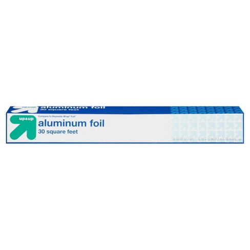 Standard Aluminum Foil - 30 sq ft - Up&Up™ (Compare to Reynolds Wrap® Foil) - image 1 of 6