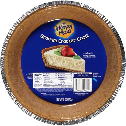 Honey Maid Graham Cracker Pie Crust - 8in - 6oz - image 1 of 3