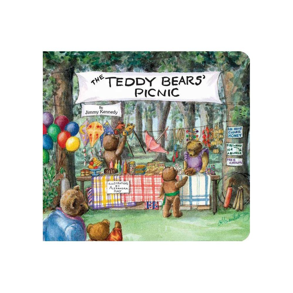 The Teddy Bears Picnic Classic Board Books By Jimmy Kennedy Board Book