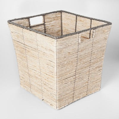 Square Woven Toy Storage Basket Natural - Pillowfort™