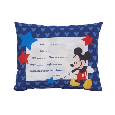 Disney Mickey Mouse Keepsake Pillow