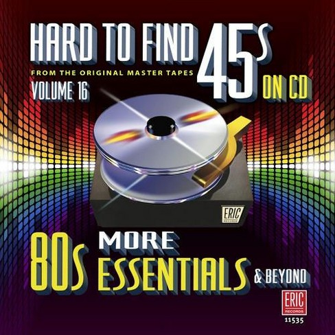 Various - Hard to find 45s on cd:Vol 16 more 8o (CD) - image 1 of 1