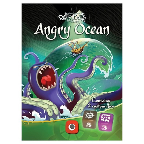 Rattle Battle Angry Ocean Board Game - image 1 of 2