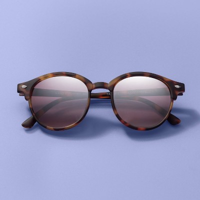 Kids' Tortoise Shell Round Sunglasses - More Than Magic™ Brown