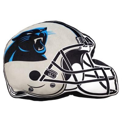 NFL Carolina Panthers Helmet Cloud Pillow
