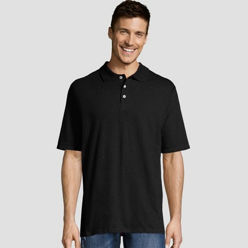 Hanes Men's X-Temp Jersey Polo Short Sleeve Shirt - image 1 of 1