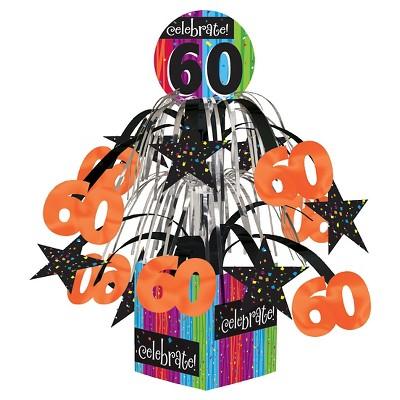 Milestone Celebrations 60th Birthday Centerpiece