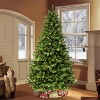 7.5ft Puleo Pre-Lit Full Vermont Spruce Christmas Tree with Sure Lit Pole 550 Clear Incandescent Lights - image 3 of 3