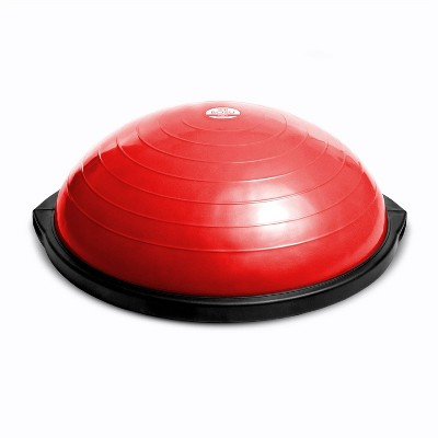 Red and Blue Bosu 72-10850 Home Gym The Original Balance Trainer 65 cm Diameter