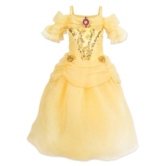 Girl's Beauty and the Beast Belle Costume - 7/8 - Disney store, Women's, Yellow image number null