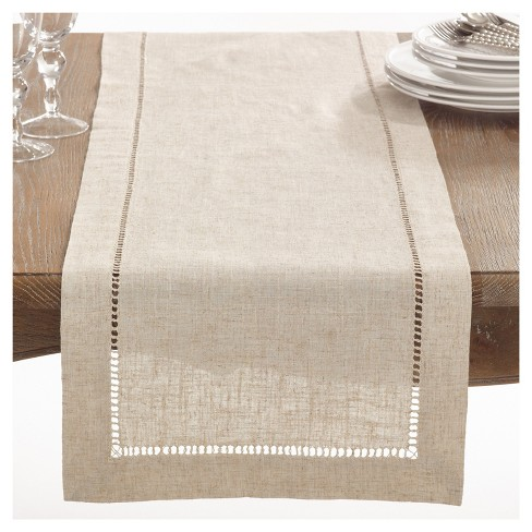 Hemstitched Table Runner - image 1 of 3