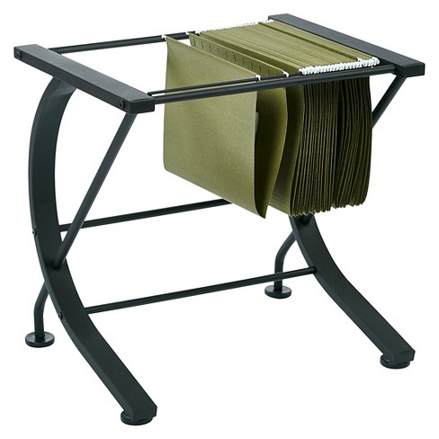 Horizon File Caddy with Black Powder Coated Metal Frame - Office Star - image 1 of 5