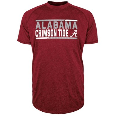 NCAA Alabama Crimson Tide Men's Short Sleeve Performance T-Shirt