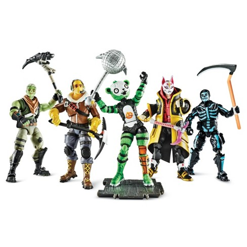 Fortnite Collector's Set Action Figure 5pk - image 1 of 4