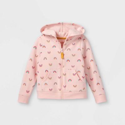 Toddler Girls' Fleece Zip-Up Hoodie - Cat & Jack™