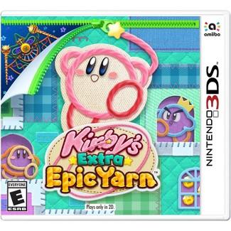 Kirbys Extra Epic Yarn - Nintendo 3DS