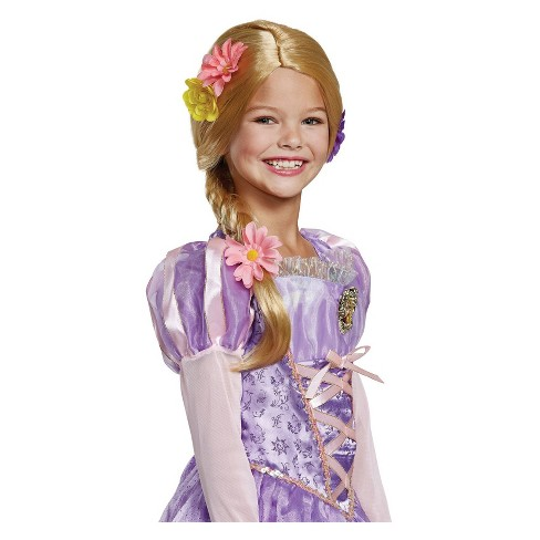 Girls' Disney Princess Rapunzel Purple Costume Wig - image 1 of 1