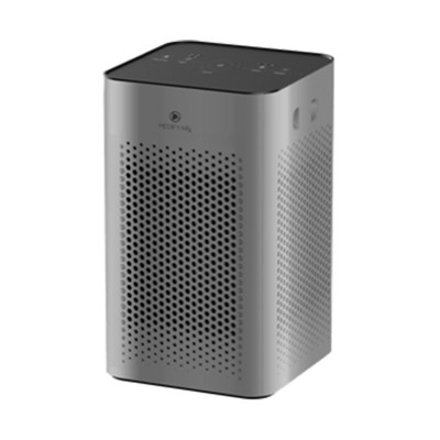 Medify Air MA-25-S1 Table Top Personal Portable Air Cleaner Purifier Machine w/ True HEPA Filter, 3 Speeds, 500 Sq. Ft Coverage, Silver