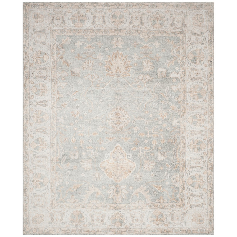 Light Blue/Ivory Holly Knotted Area Rug 5'X8' - Safavieh