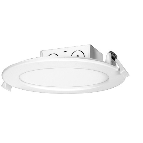 """Satco Lighting S29059 5000K LED Integrated Recessed Fixture 5"""" Open Recessed Trim- IC Rated - image 1 of 1"""