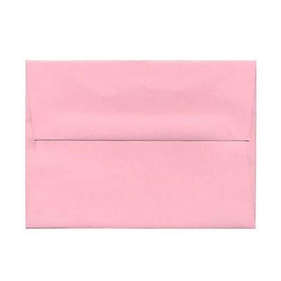 JAM Paper A6 Invitation Envelopes 4.75 x 6.5 Baby Pink 155625