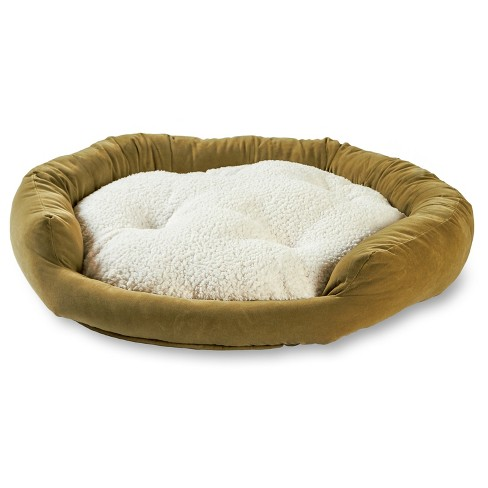 Happy Hounds Murphy Donut Dog Bed - Moss - Medium - image 1 of 4