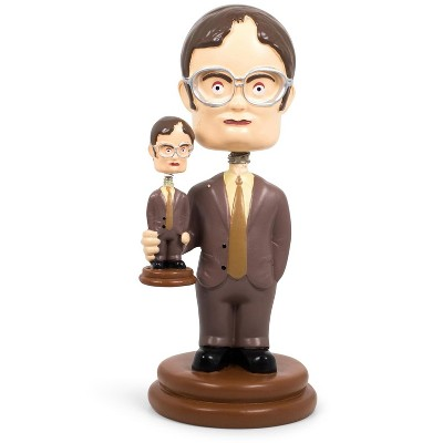 Surreal Entertainment The Office Double Dwight Bobblehead Collectible Figure | 5 Inches Tall