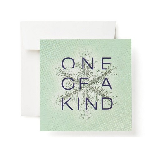 """""""One Of The Kind"""" Snowflake Card - image 1 of 6"""