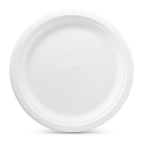 chinet classic white paper dinner plates 32ct target