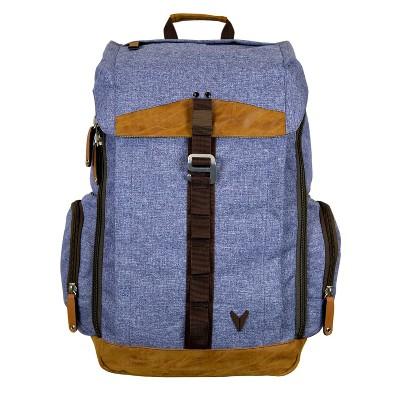 "BONDKA 16"" Jigsaw Backpack - Heather Blue"