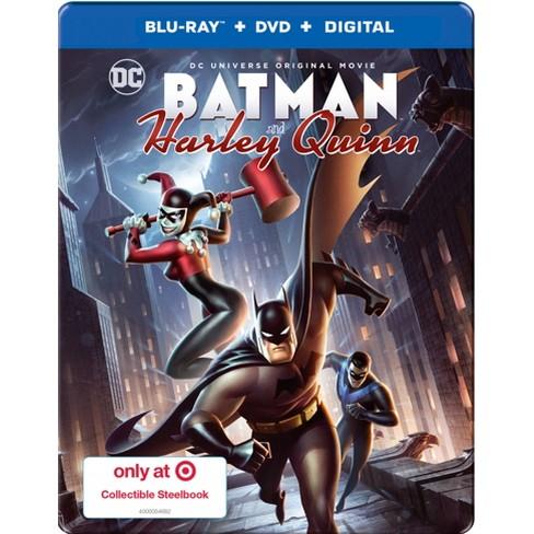 5e27d115b234 Blu-ray DCU  Batman And Harley Quinn Target Exclusive Steelbook (Blu-ray +  DVD)