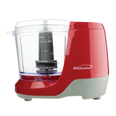 Brentwood 1.5 Cup Mini Food Chopper in Black
