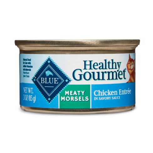 Blue Buffalo Healthy Gourmet Adult Meaty Morsels Chicken Entrée - Wet Cat Food - image 1 of 2