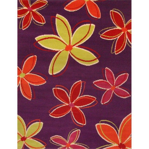 Abacasa Terra Shasta Purple - Multi 4x6 Area Rug - Sam's International - image 1 of 1