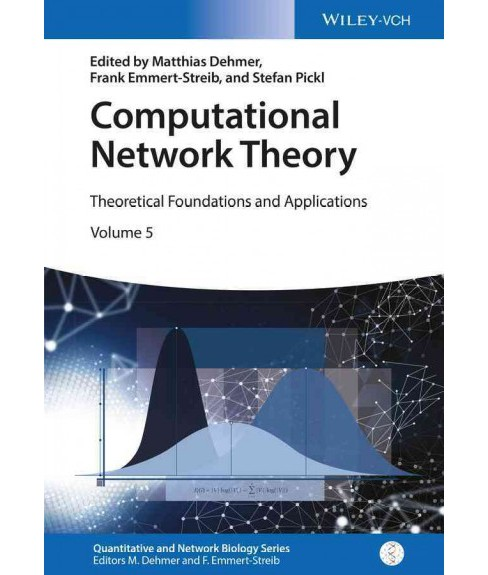 Computational Network Theory : Theoretical Foundations and Applications (Hardcover) - image 1 of 1
