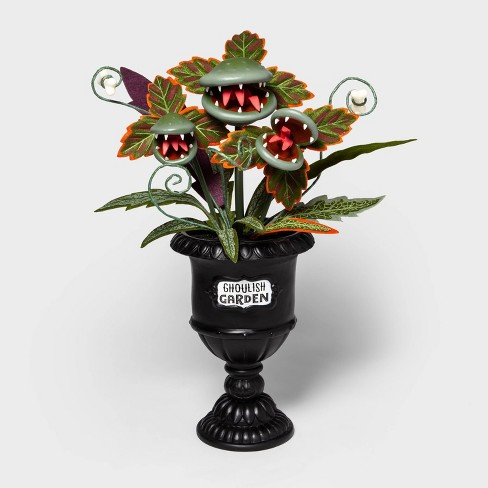"""28"""" Large Faux Creepy Ghoulish Garden Halloween Black Planter - Hyde & EEK! Boutique™ - image 1 of 2"""
