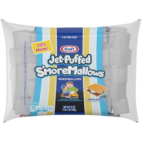 Kraft Jet-Puffed S'moreMallows Marshmallows - 21oz - image 1 of 3