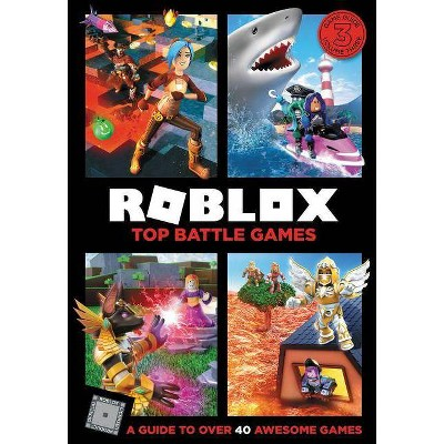 Roblox Top Battle Games - by  Official Roblox (Hardcover)