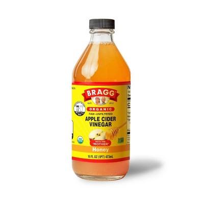 Bragg Original Apple Cider Honey Vinegar - 16 fl oz
